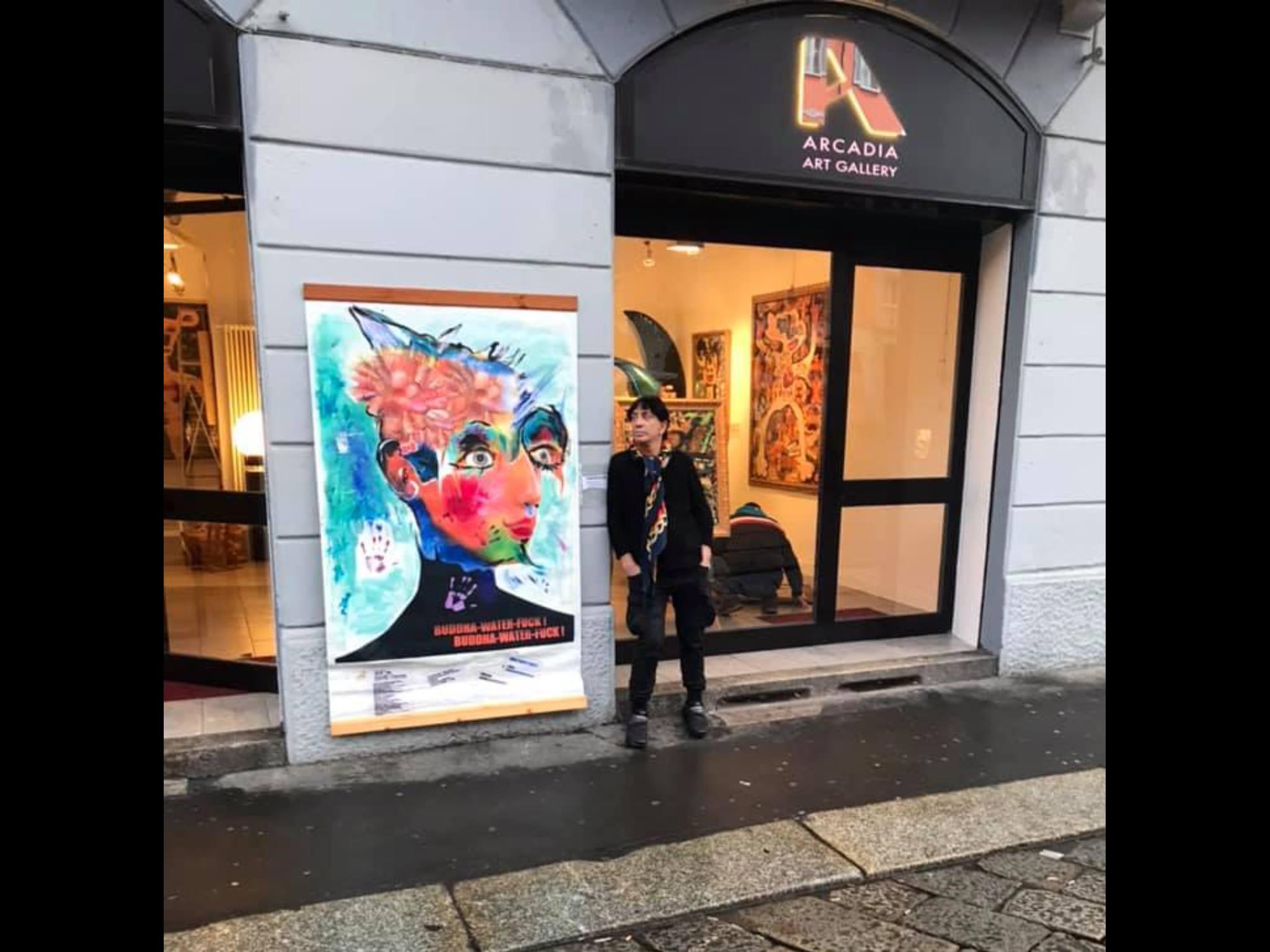 spazio art exhibition Milano